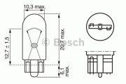 BEC AUTO BOSCH 1987302517 W3W 24V 3W