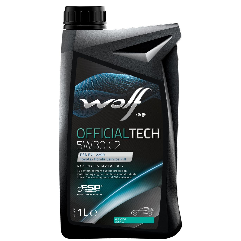 ULEI MOTOR WOLF OFFICIALTECH C2 5W30 1L