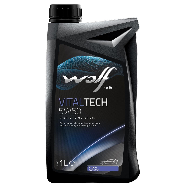 ULEI MOTOR WOLF VITALTECH 5W50 1L