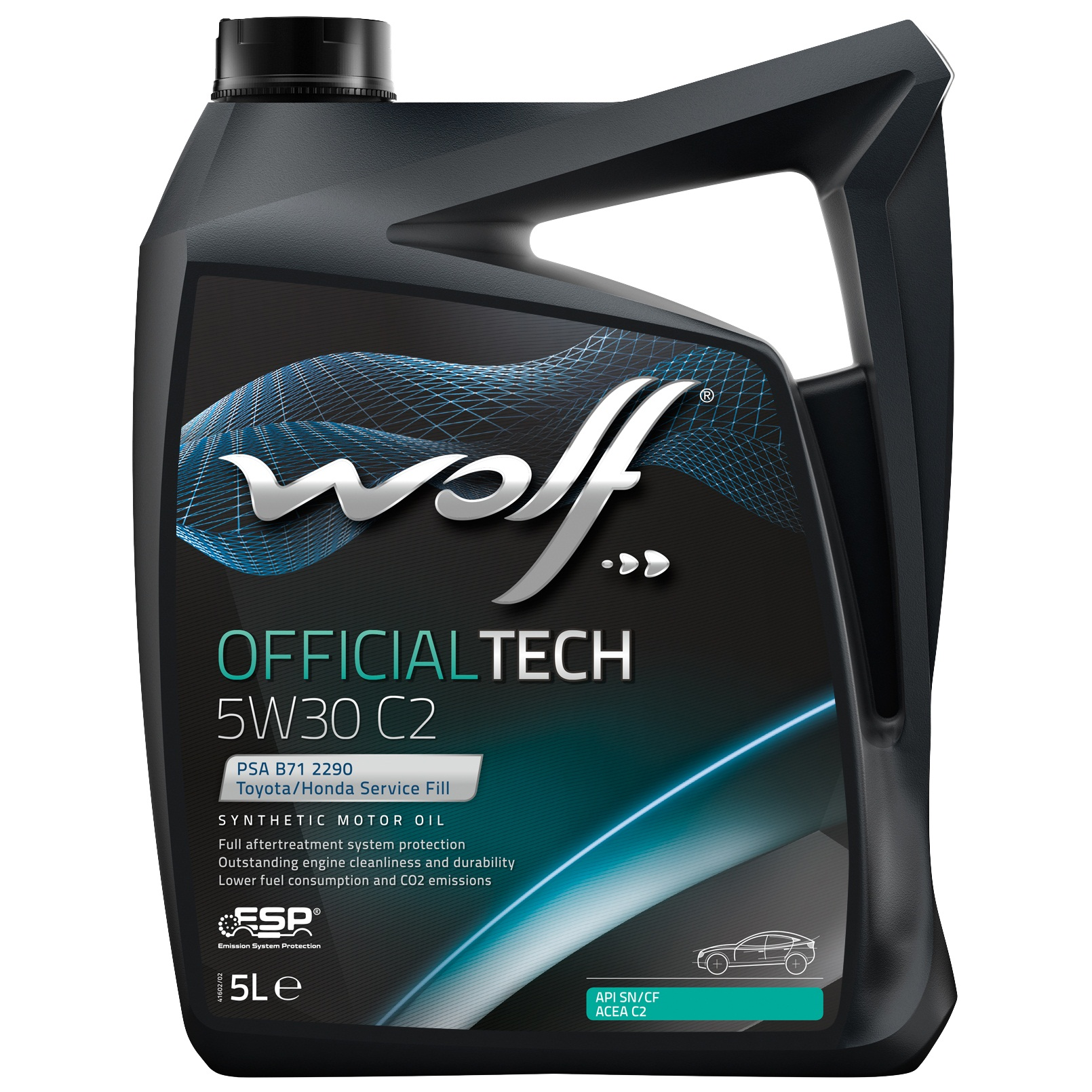 ULEI MOTOR WOLF OFFICIALTECH C2 5W30 5L
