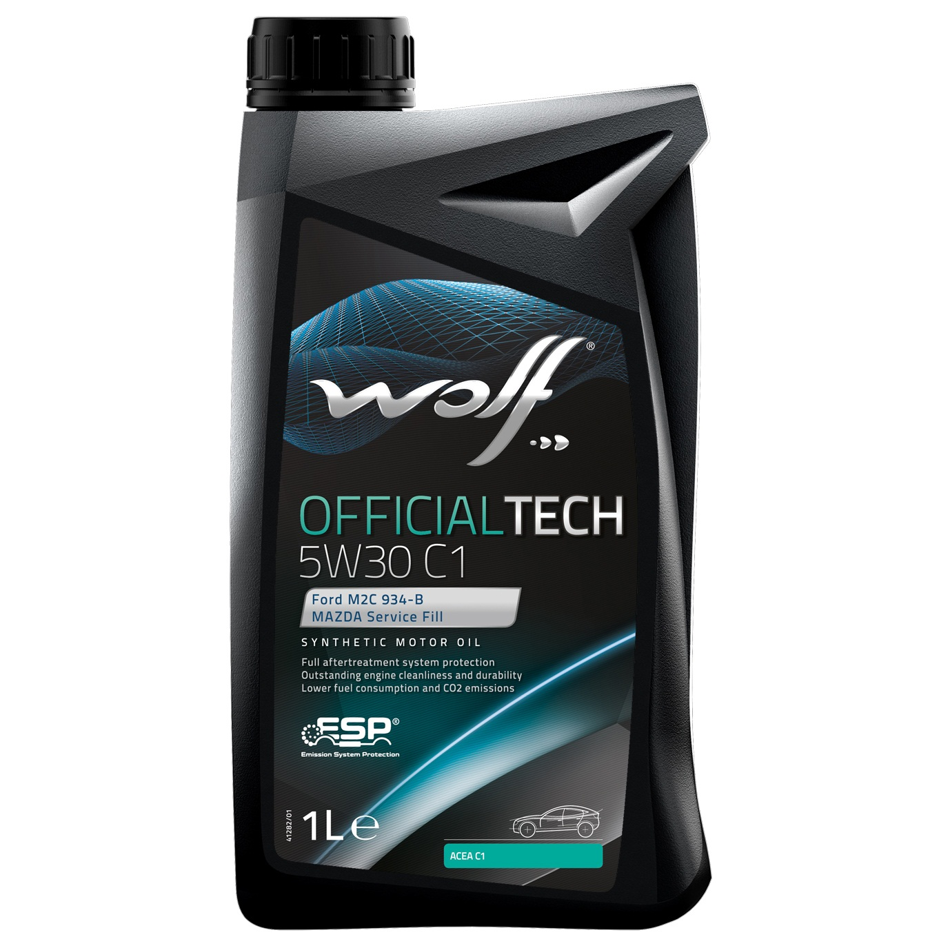 ULEI MOTOR WOLF OFFICIALTECH C1 5W30 1L