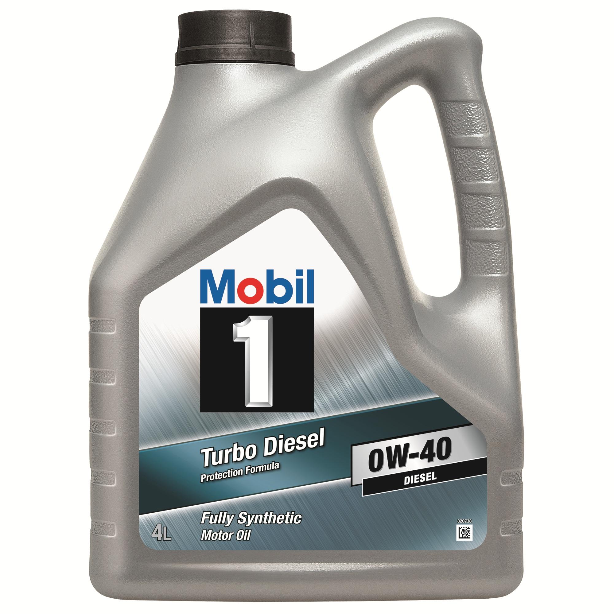 ULEI MOTOR MOBIL 1 TURBO DIESEL 0W40 4L