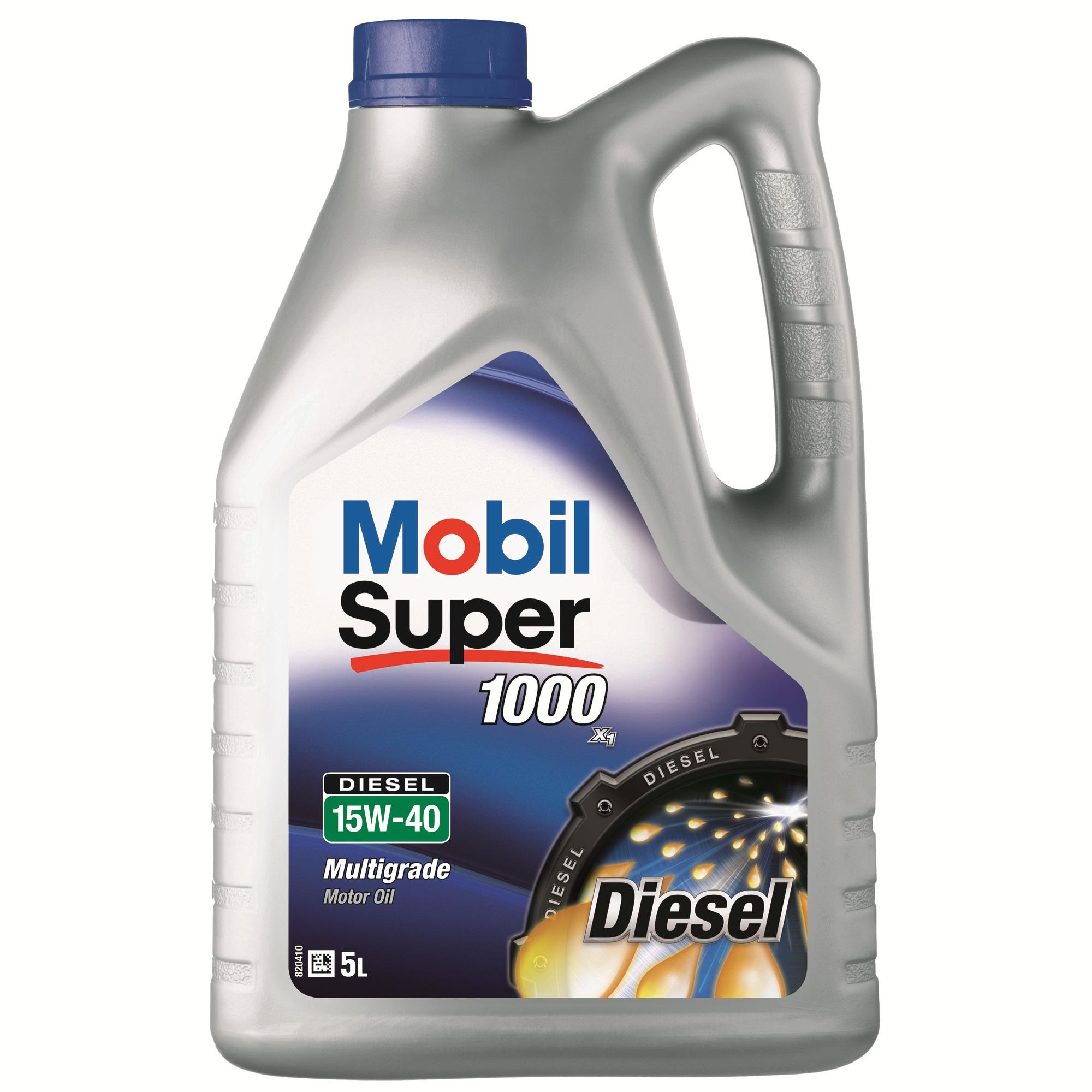 ULEI MOTOR MOBIL SUPER 1000 X1 DIESEL 15W40 5L