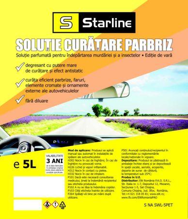 LICHID SPALARE PARBRIZ VARA STARLINE 5L
