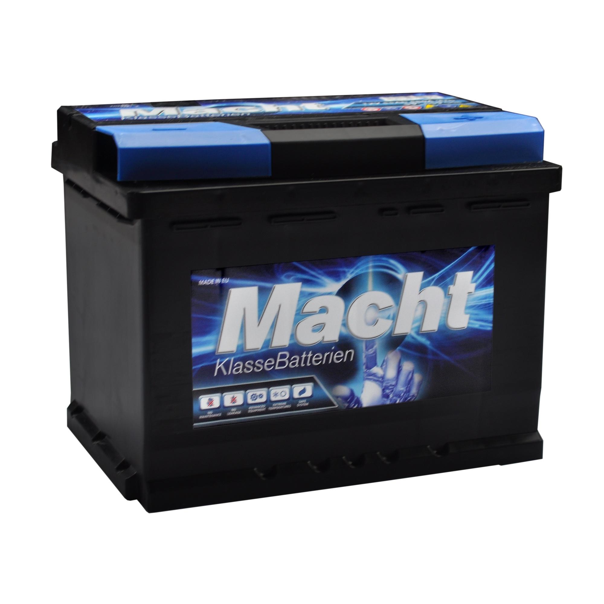 Baterie auto MACHT 25343 12V 55 Ah 480A