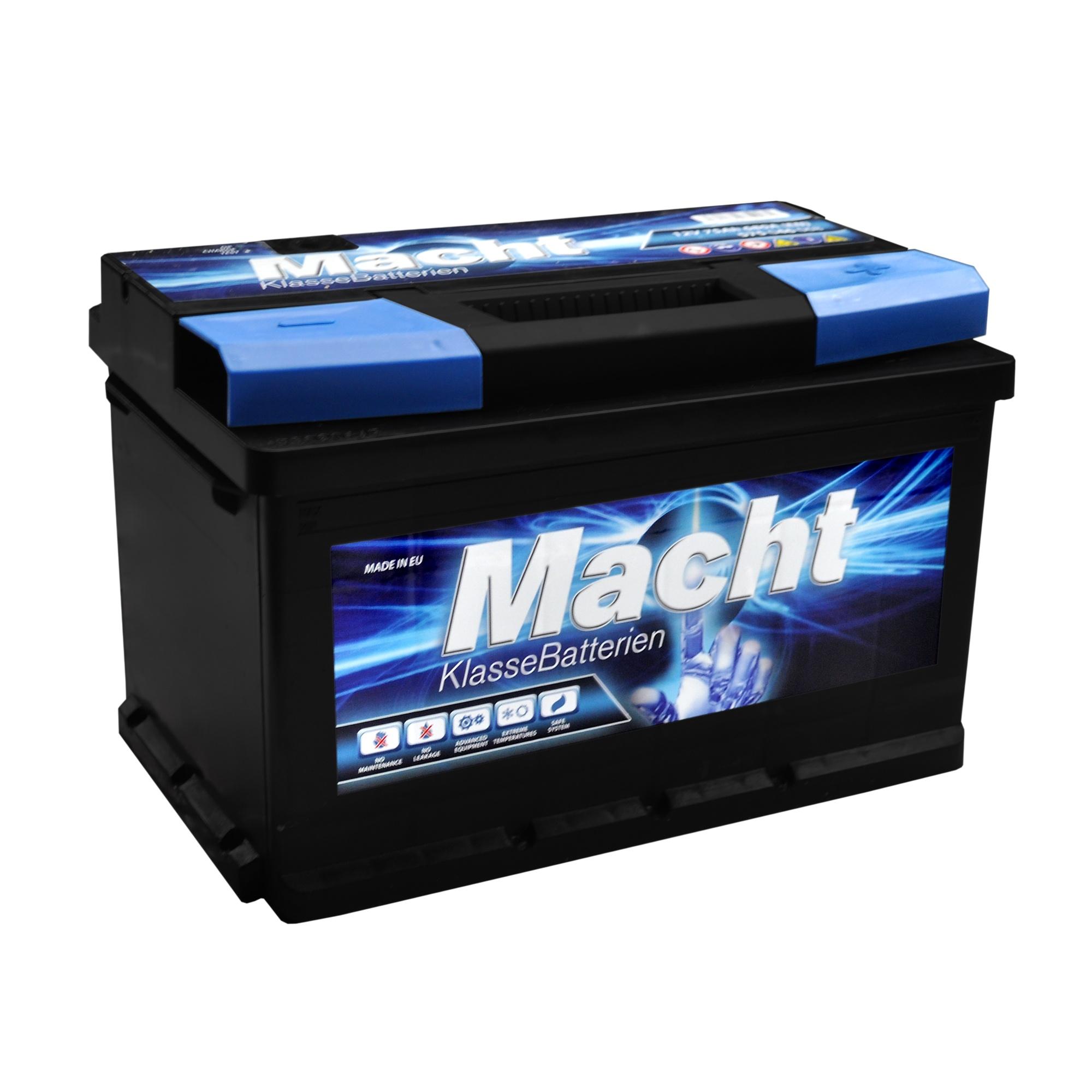 Baterie auto MACHT 25348 12V 75 Ah 680A