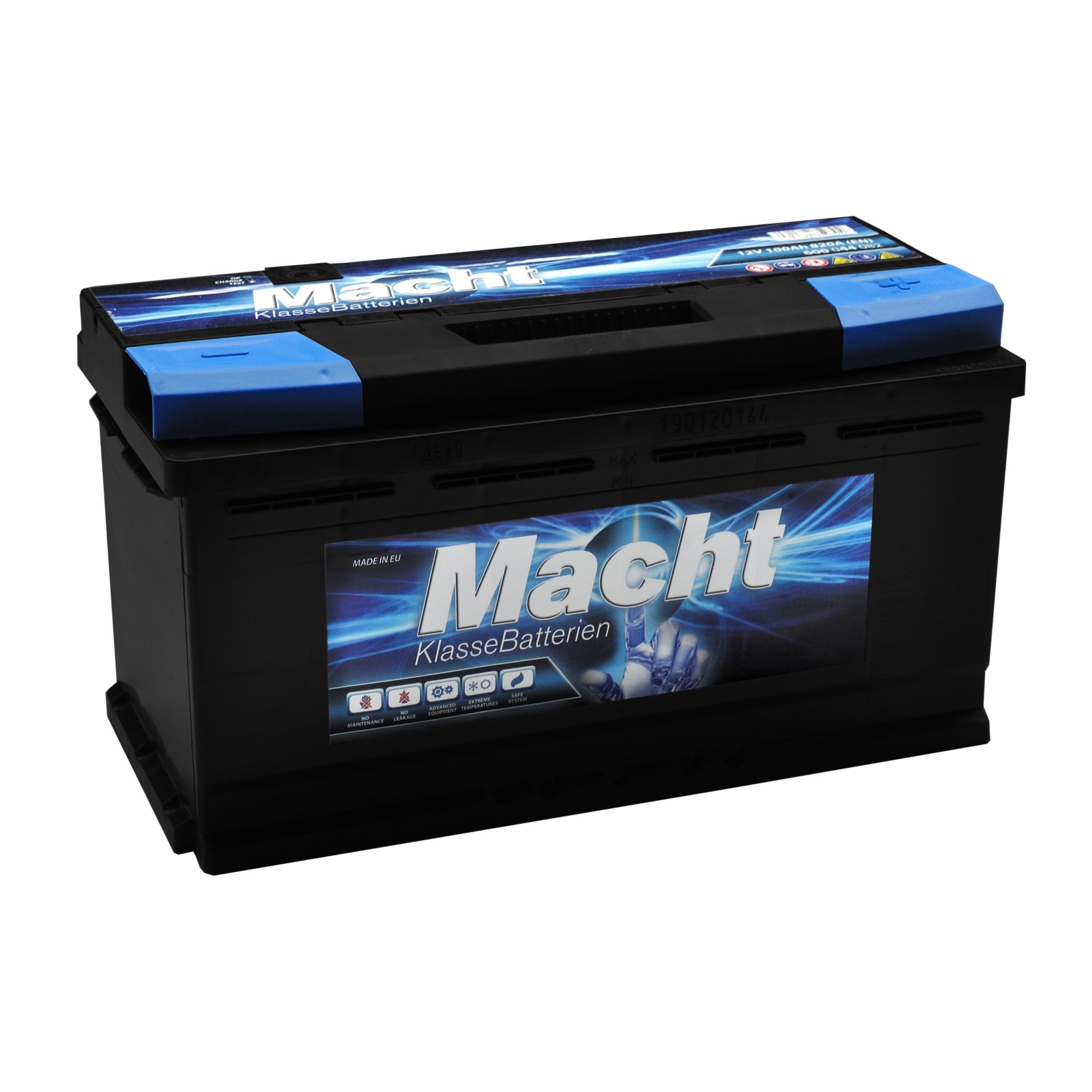 Baterie auto MACHT 25350 12V 100 Ah 800A