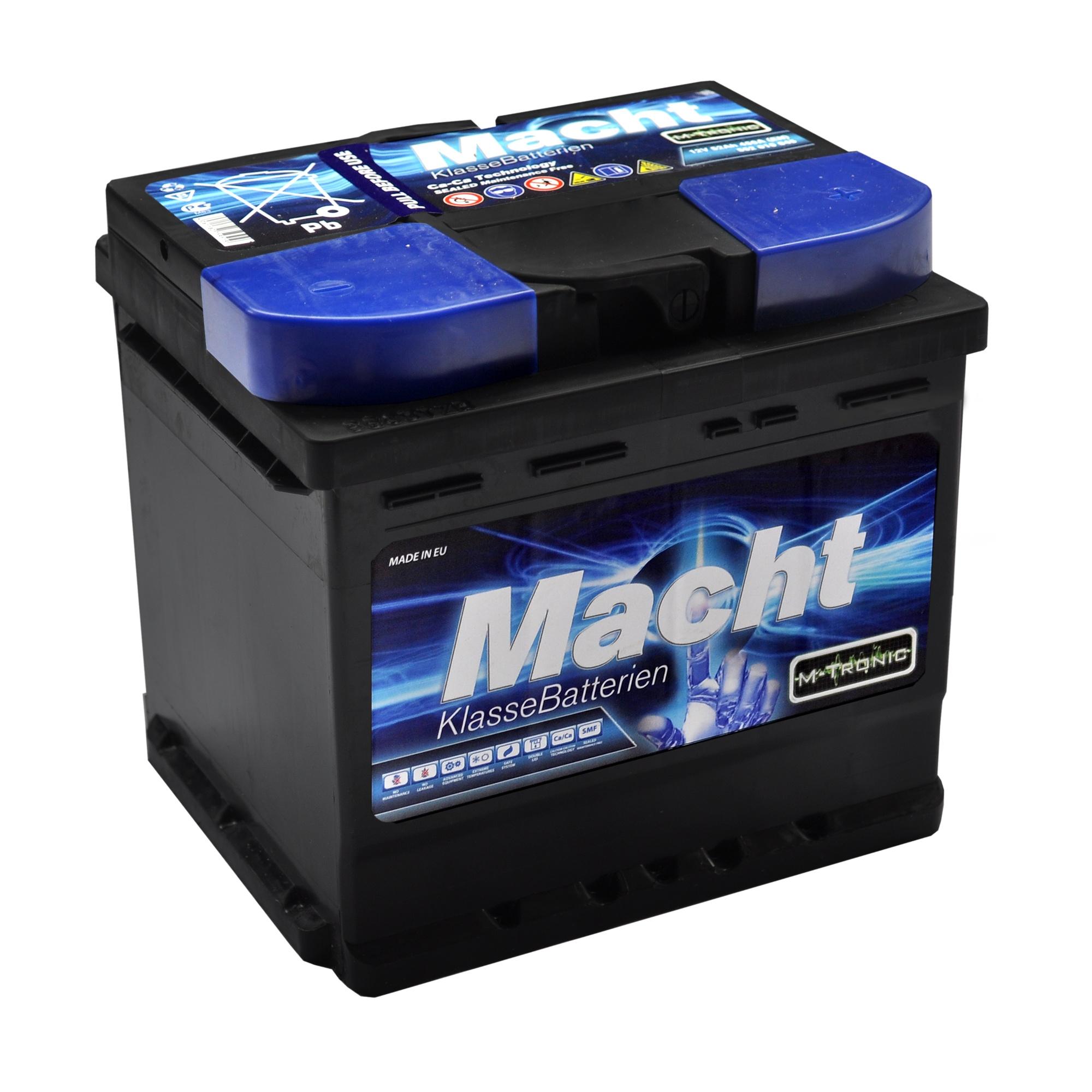 Baterie auto MACHT 25632 M-Tronic 12V 52 Ah 450A - 3 ANI GARANTIE