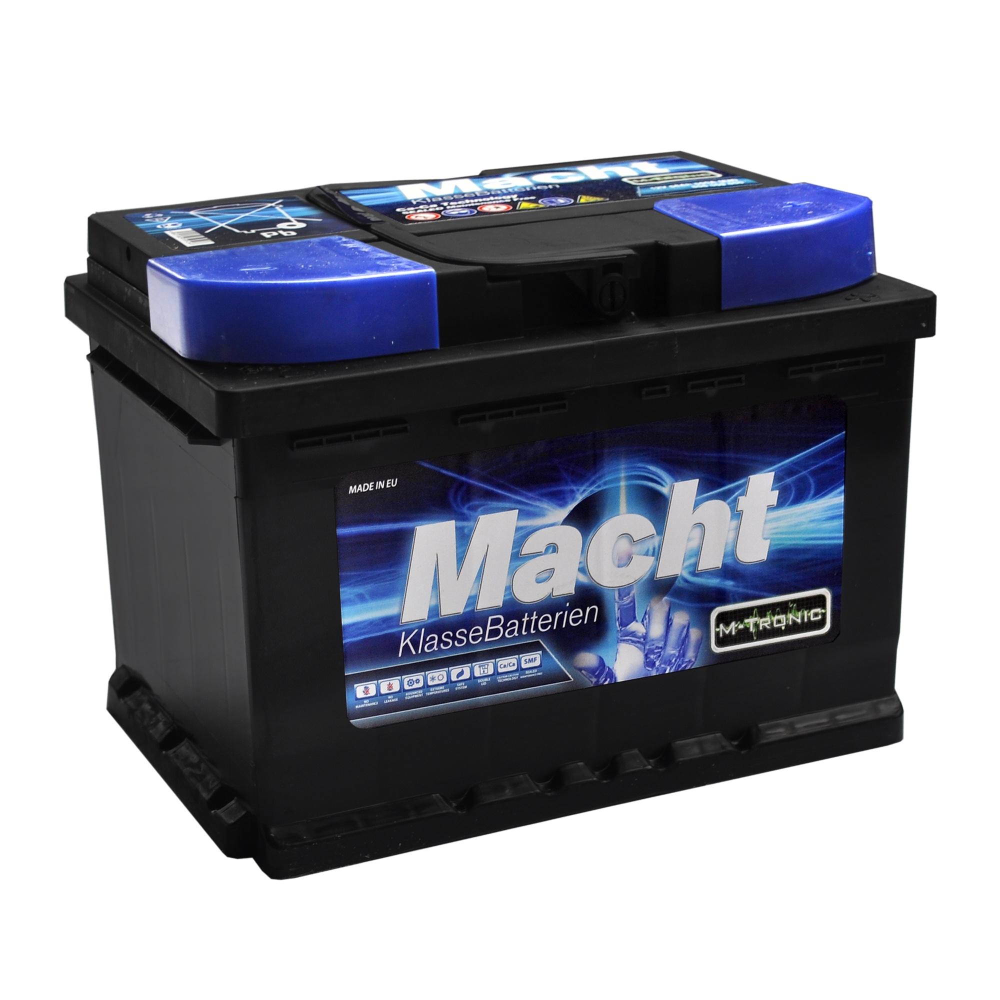 Baterie auto MACHT 25633 M-Tronic 12V 56 Ah 500A - 3 ANI GARANTIE