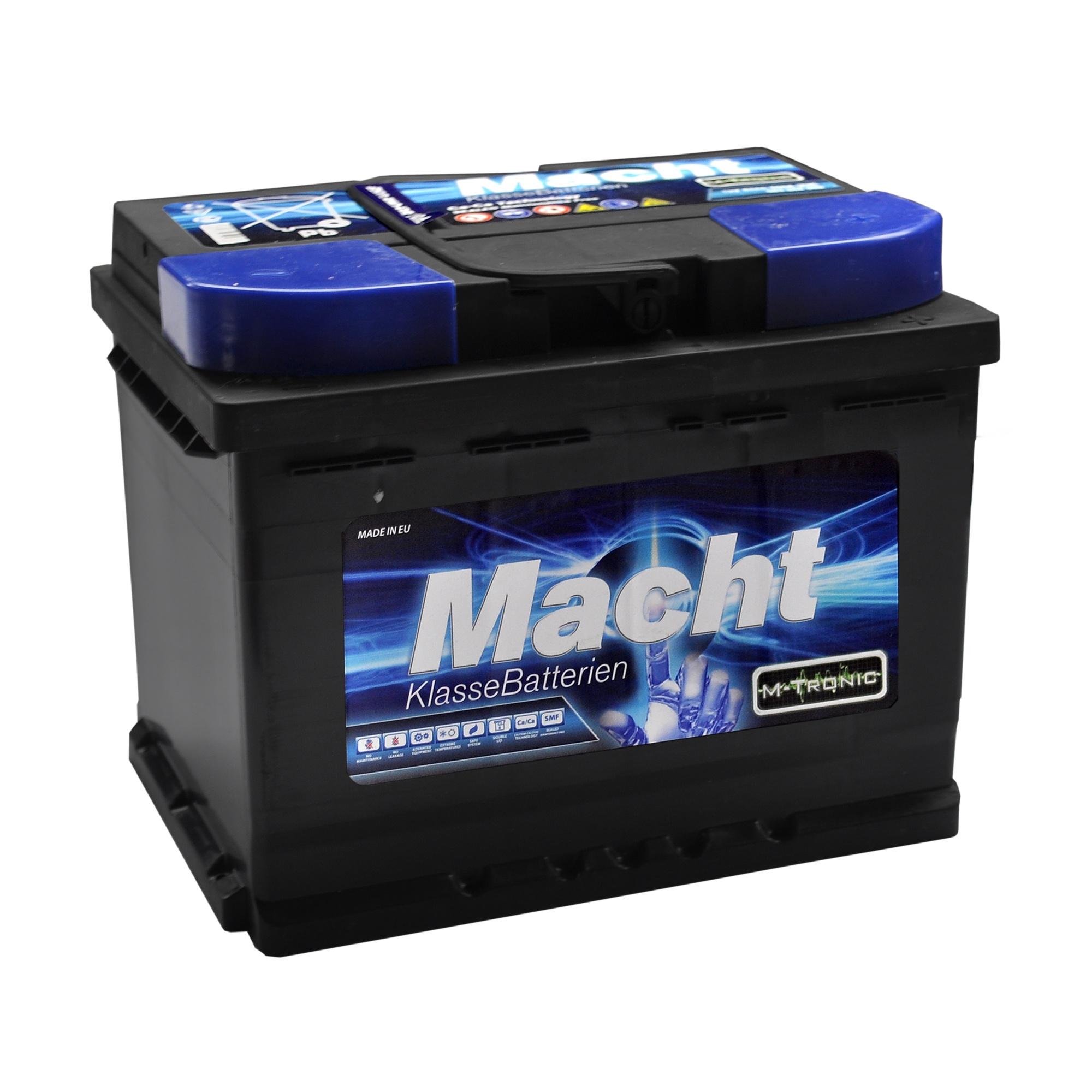 Baterie auto MACHT 25634 M-Tronic 12V 63 Ah 600A - 3 ANI GARANTIE