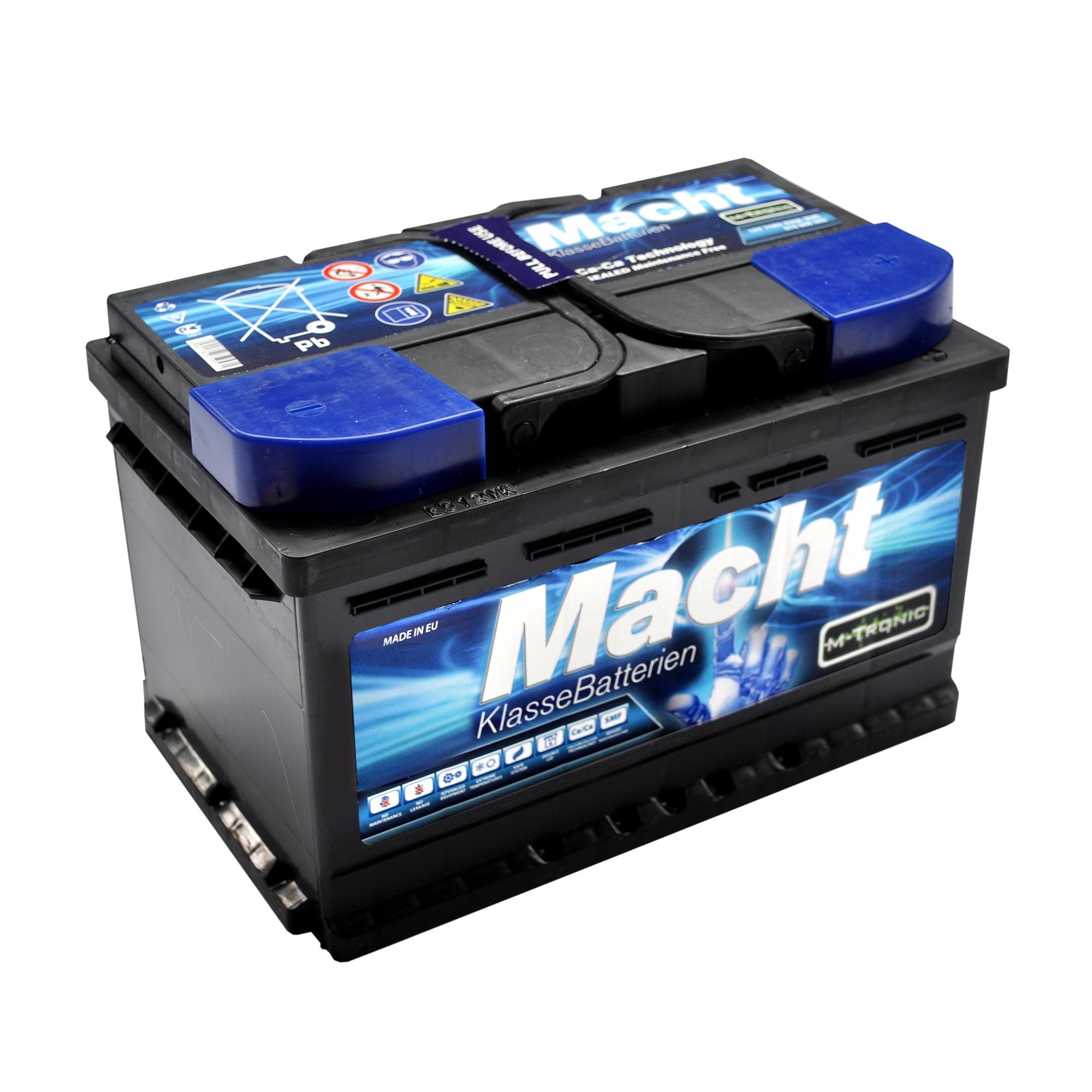 Baterie auto MACHT 25705 M-Tronic 12V 74 Ah 630A - 3 ANI GARANTIE