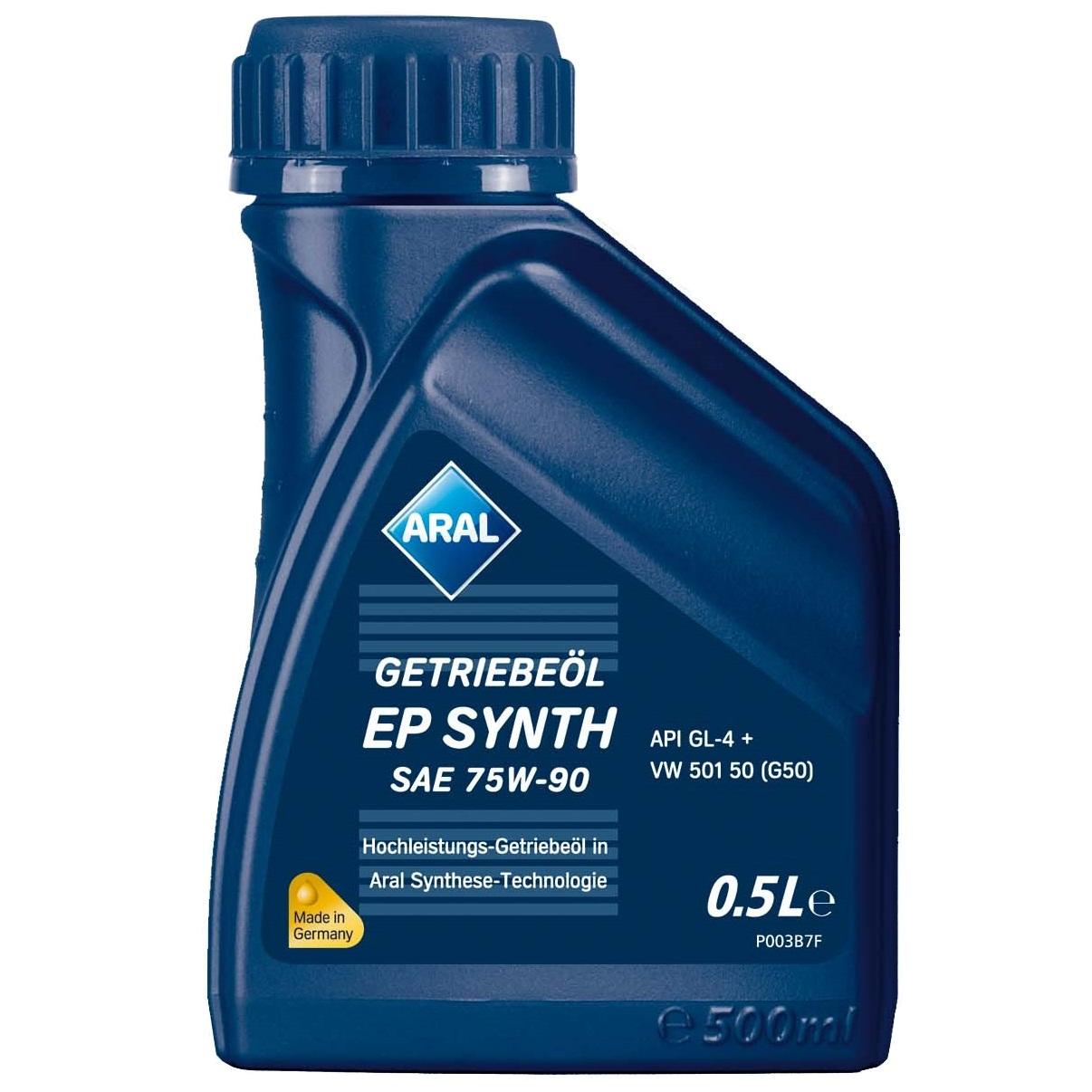 Ulei pentru cutie viteze manuala Aral Ep Synth SAE 75W-90 500ml