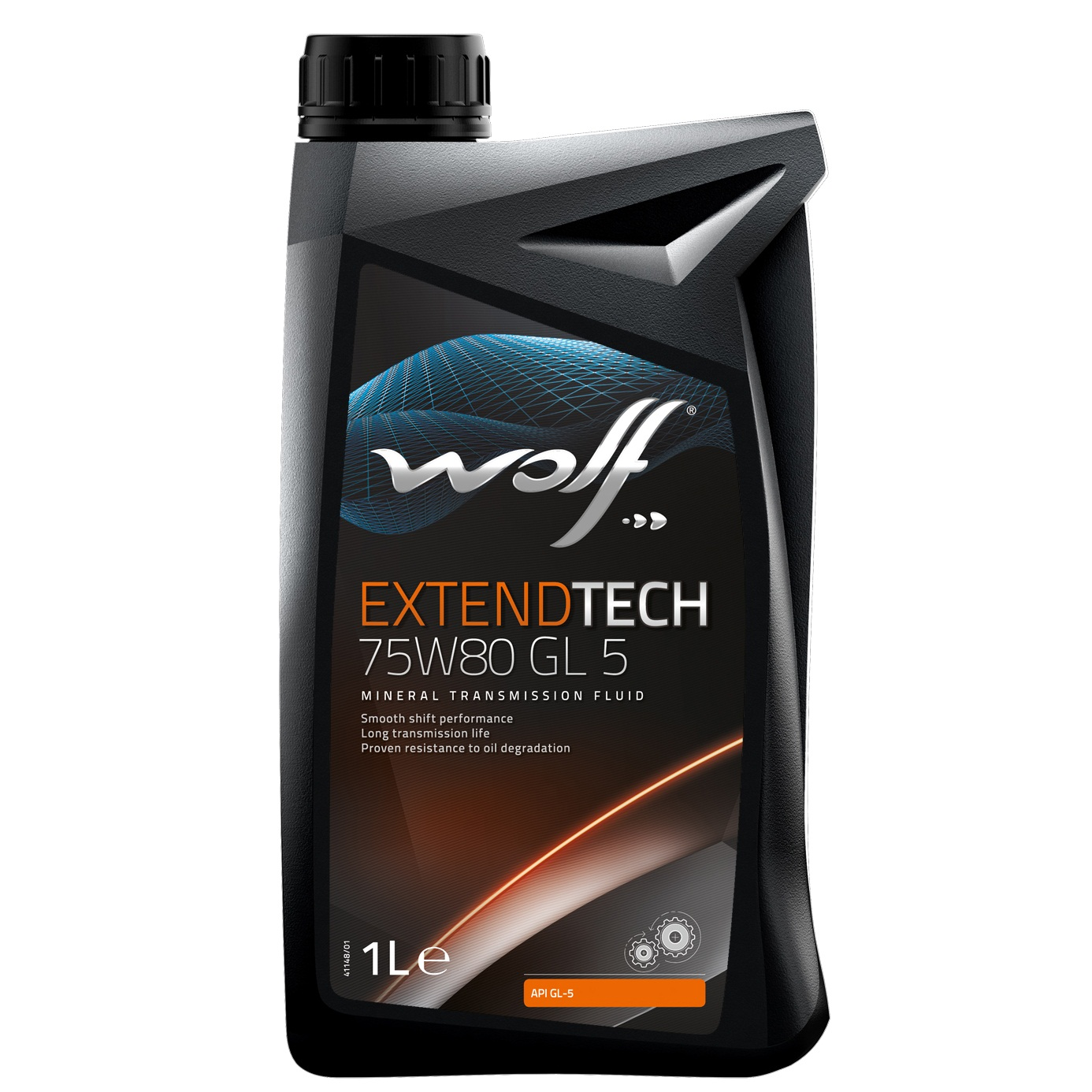 Ulei pentru cutie viteze manuala Wolf Extendtech GL 5 75W80 1L