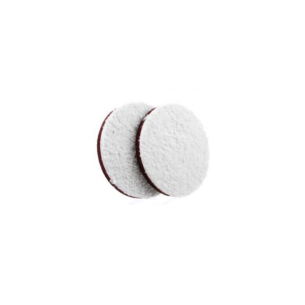 Set 2 pad polish abraziv cu microfibre MEGUIARS 127mm