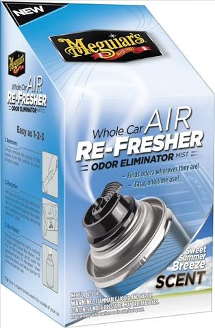 Odorizant sistem ventilatie MEGUIARS Summer Breeze 74ML