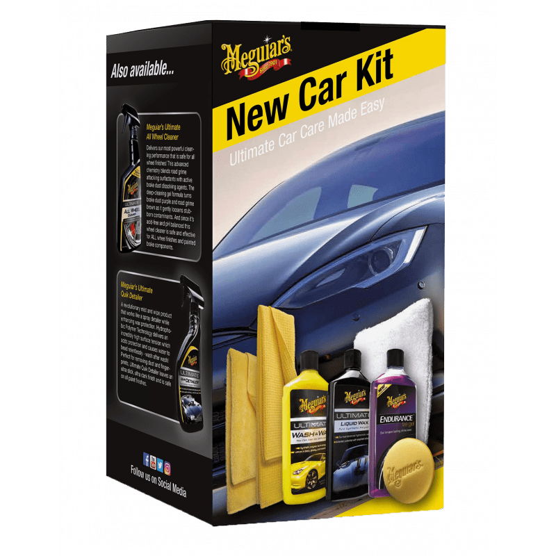 Kit curatare MEGUIARS EU New Car