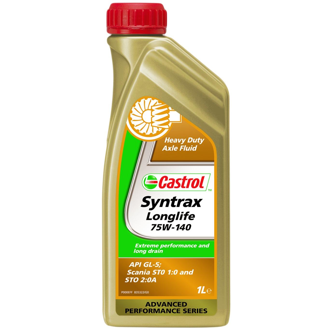 Ulei diferential Castrol Syntrax Long Life 75W140 1L