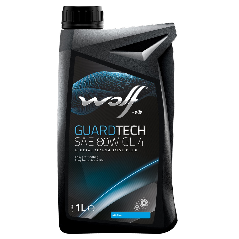 Ulei pentru cutie viteze manuala Wolf Guardtech SAE GL 4 80W 1L