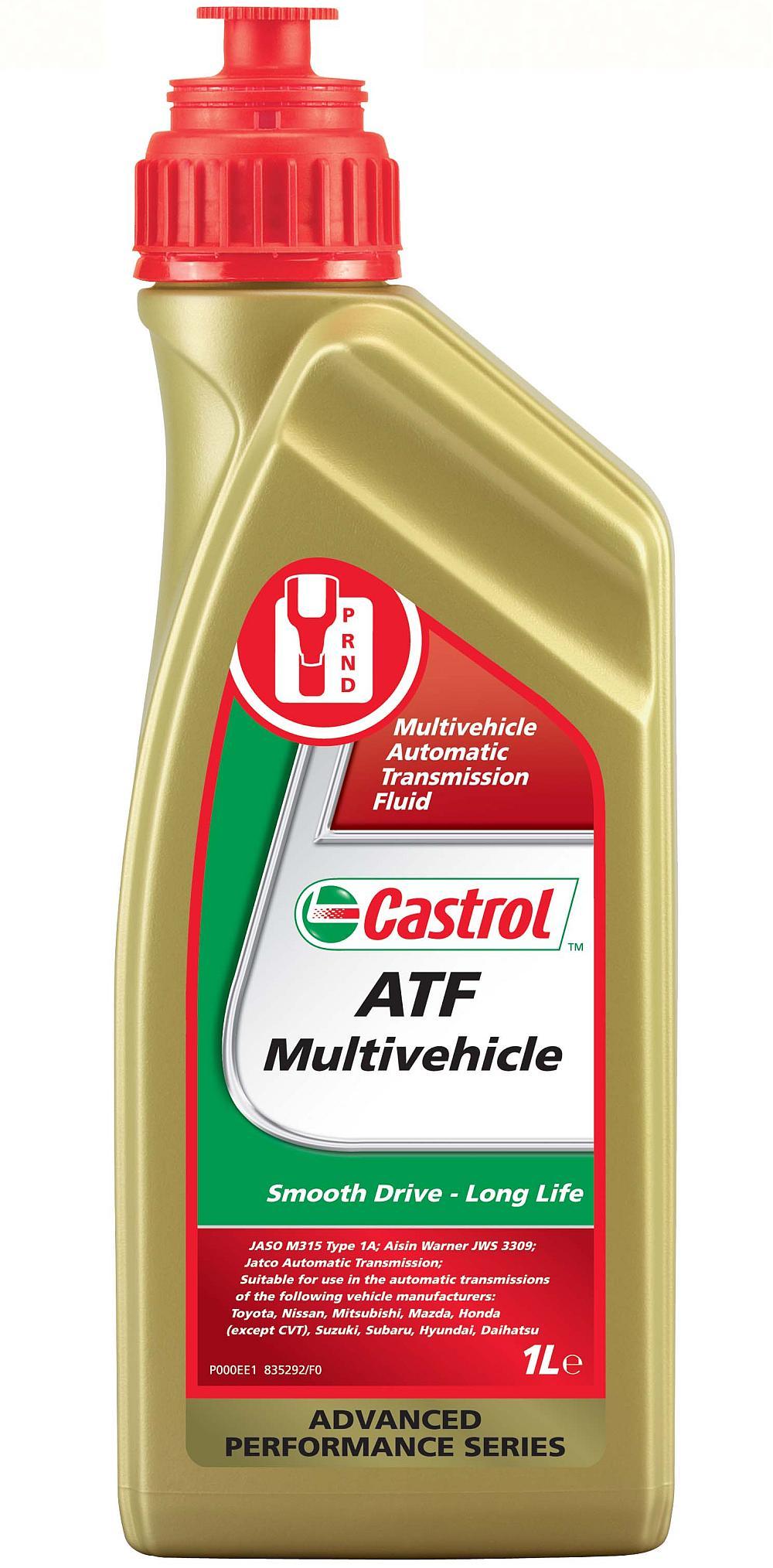 Ulei pentru cutie viteze automata Castrol ATF Multivehicle1L