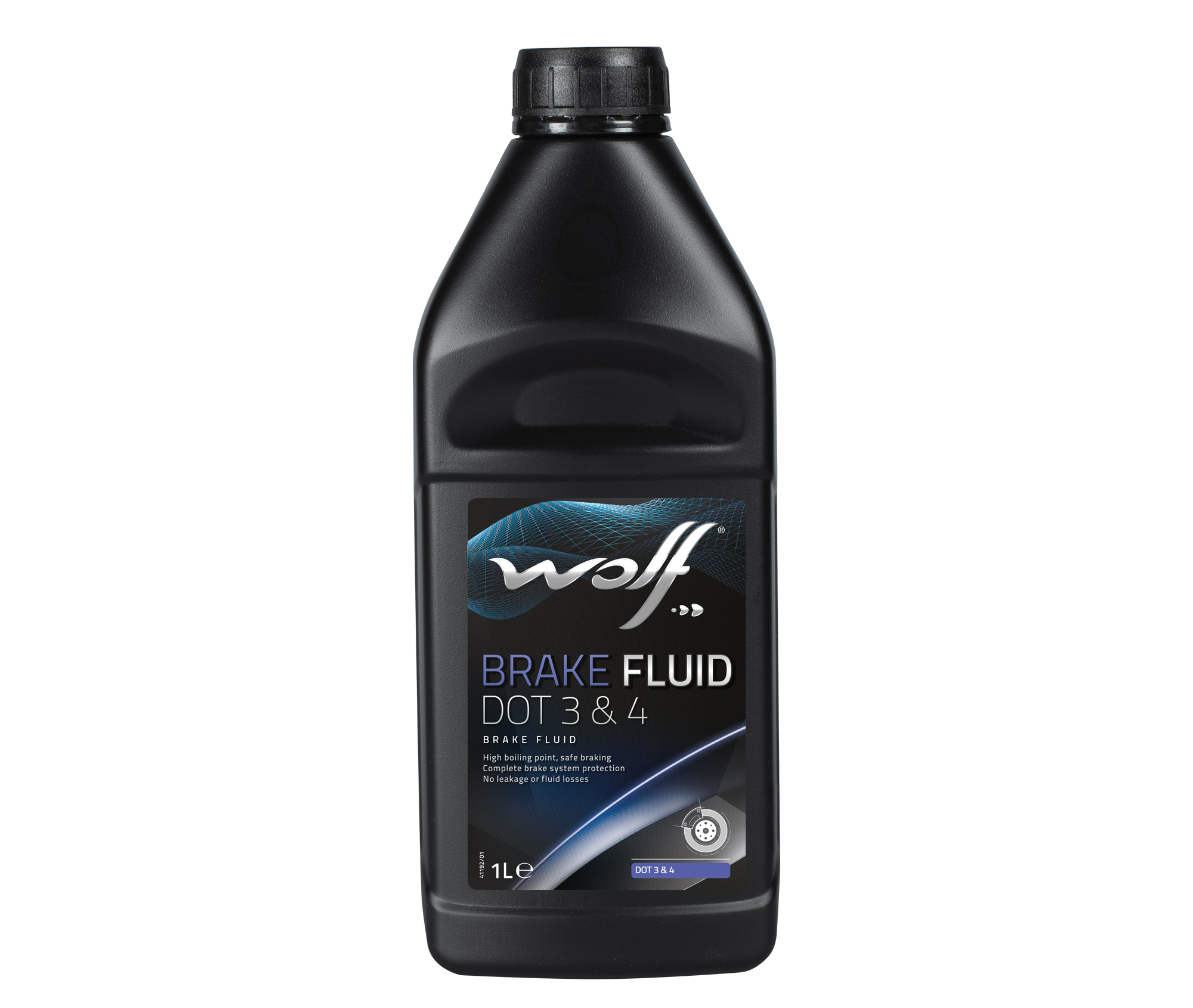 Lichid de frana WOLF BRAKE FLUID DOT3-4 1L
