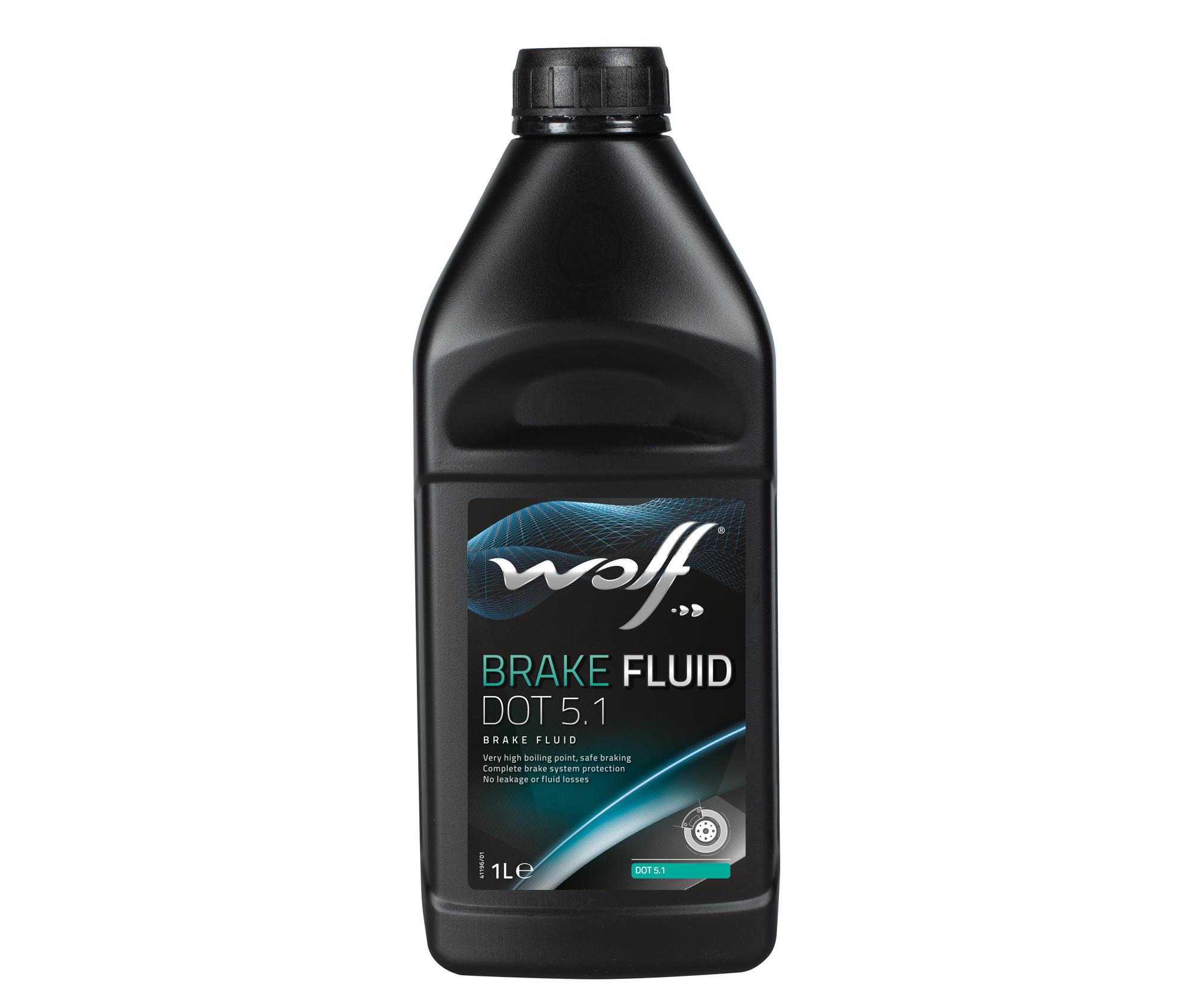 Lichid de frana WOLF BRAKE FLUID DOT 5.1 1L