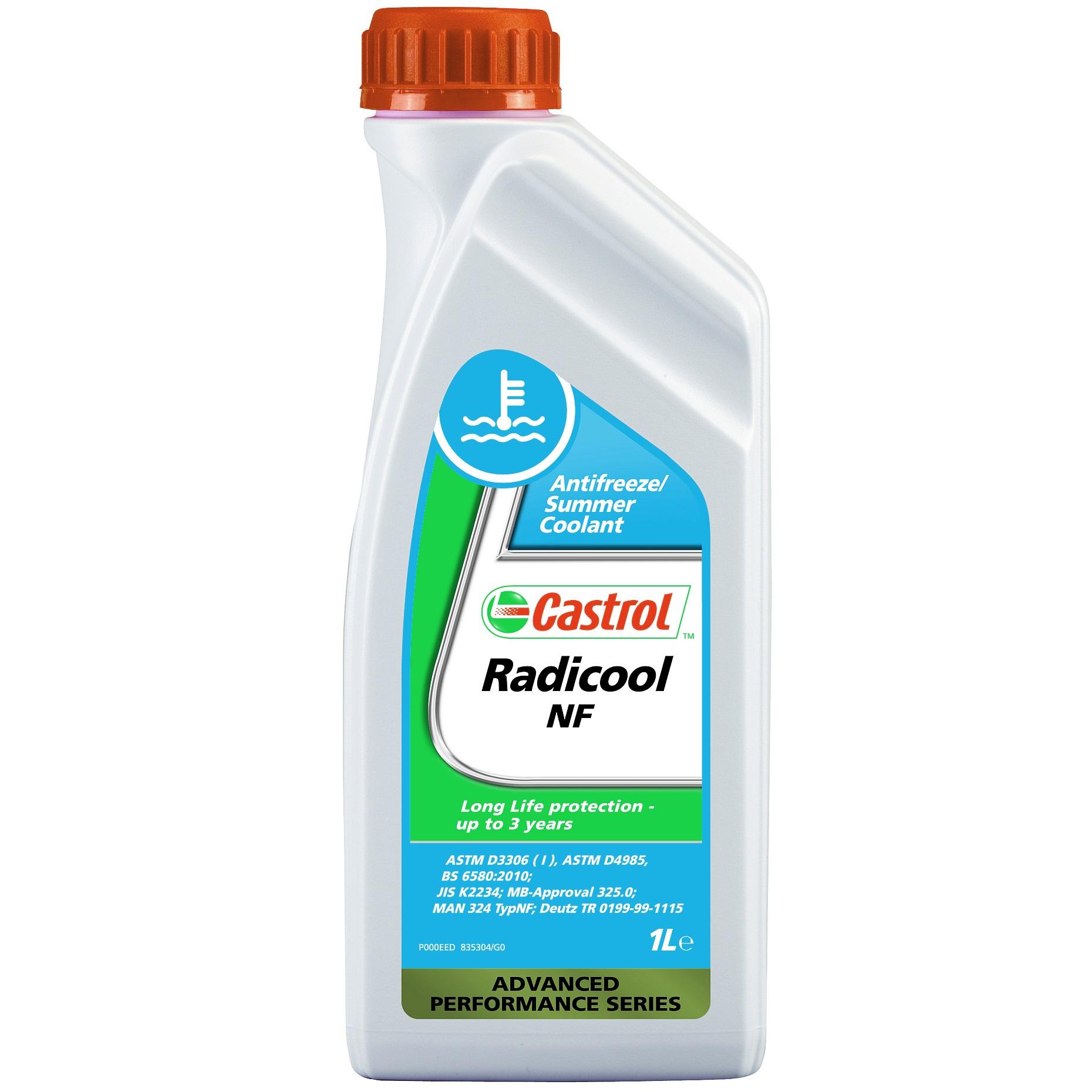 Antigel cu silicati Castrol Radicool NF Albastru 1L