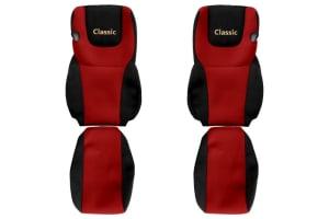 Huse scaun F-CORE CLASSIC RED DAF XF, XF 105 10.12-