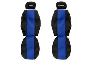 Huse scaun F-CORE CLASSIC BLUE IVECO EUROCARGO I-III, EUROSTAR, EUROTECH MH, EUROTECH MP, EUROTECH MT 01.91-