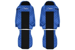 Huse scaun F-CORE ELEGANCE BLUE IVECO STRALIS 01.13-