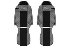 Huse scaun F-CORE ELEGANCE GREY IVECO STRALIS 01.13-