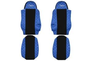 Huse scaun F-CORE ELEGANCE BLUE DAF 95 XF, CF 85, LF 45, LF 55, XF 105, XF 95 01.97-