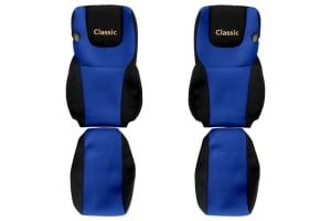 Huse scaun F-CORE CLASSIC BLUE DAF XF, XF 105 10.12-