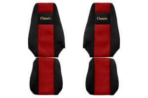Huse scaun F-CORE CLASSIC RED RVI MAGNUM 03.09-