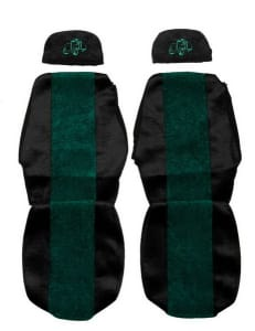 Huse scaun F-CORE CLASSIC GREEN RVI PREMIUM 04.96-