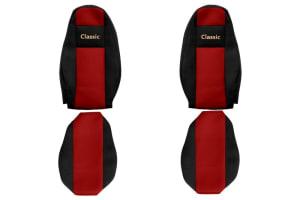 Huse scaun F-CORE CLASSIC RED VOLVO FH 16 II 03.14-