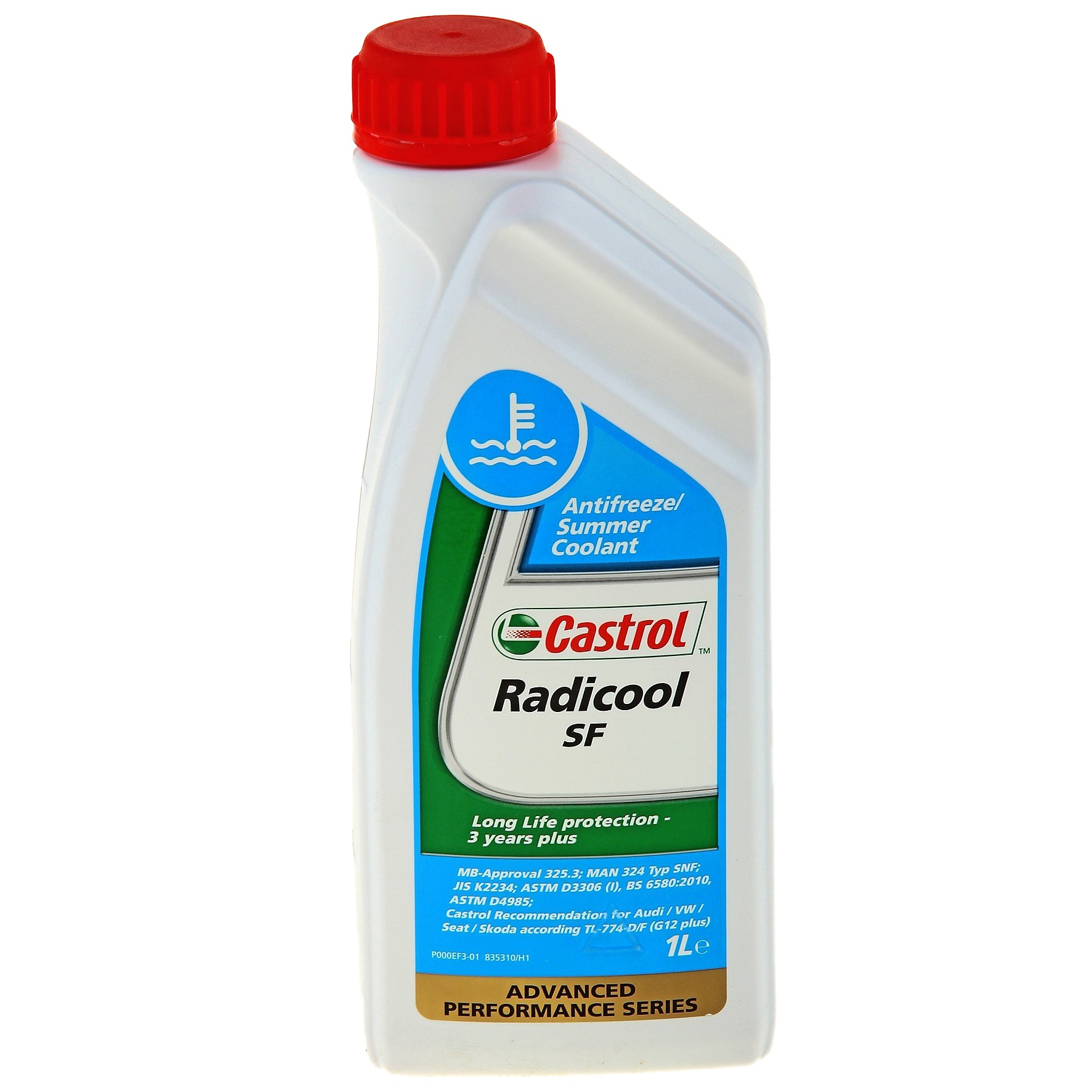 Antigel fara silicati Castrol Radicool SF Rosu 1L