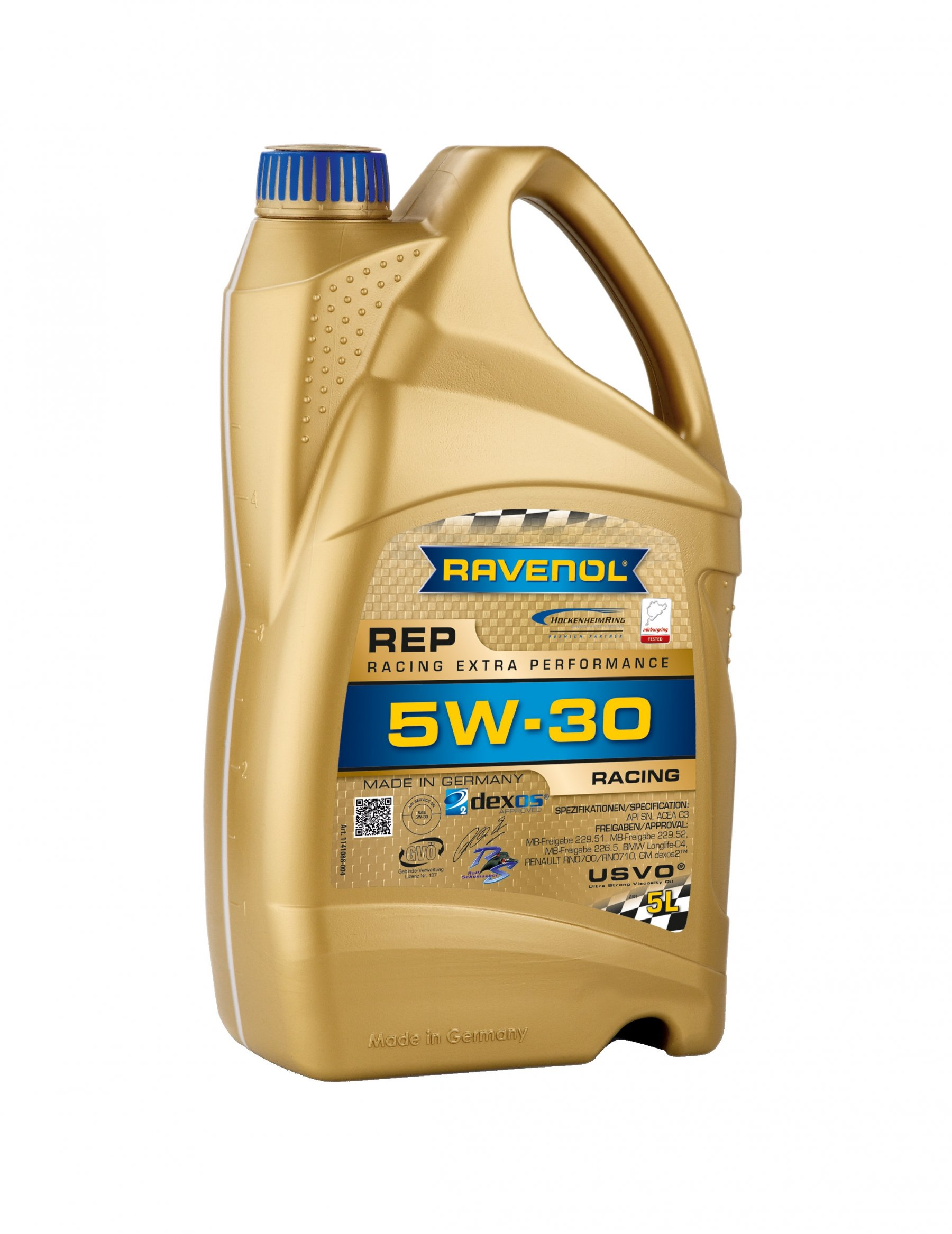 ULEI MOTOR RAVENOL 1141088 REP Racing Extra Performance 5W30 4L