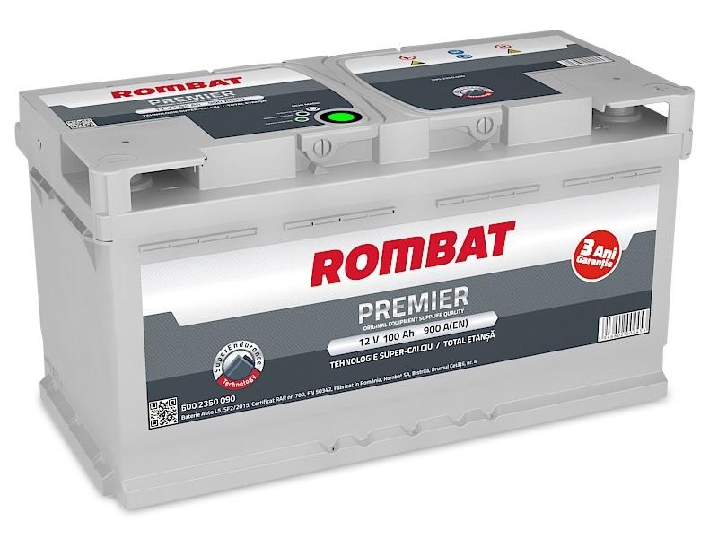 Baterie auto ROMBAT PREMIER 12V 100AH, 900A
