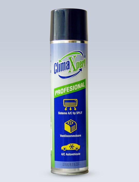 Spray igienizare instalatie AC ClimaXpert Profesional aerosol 400ml