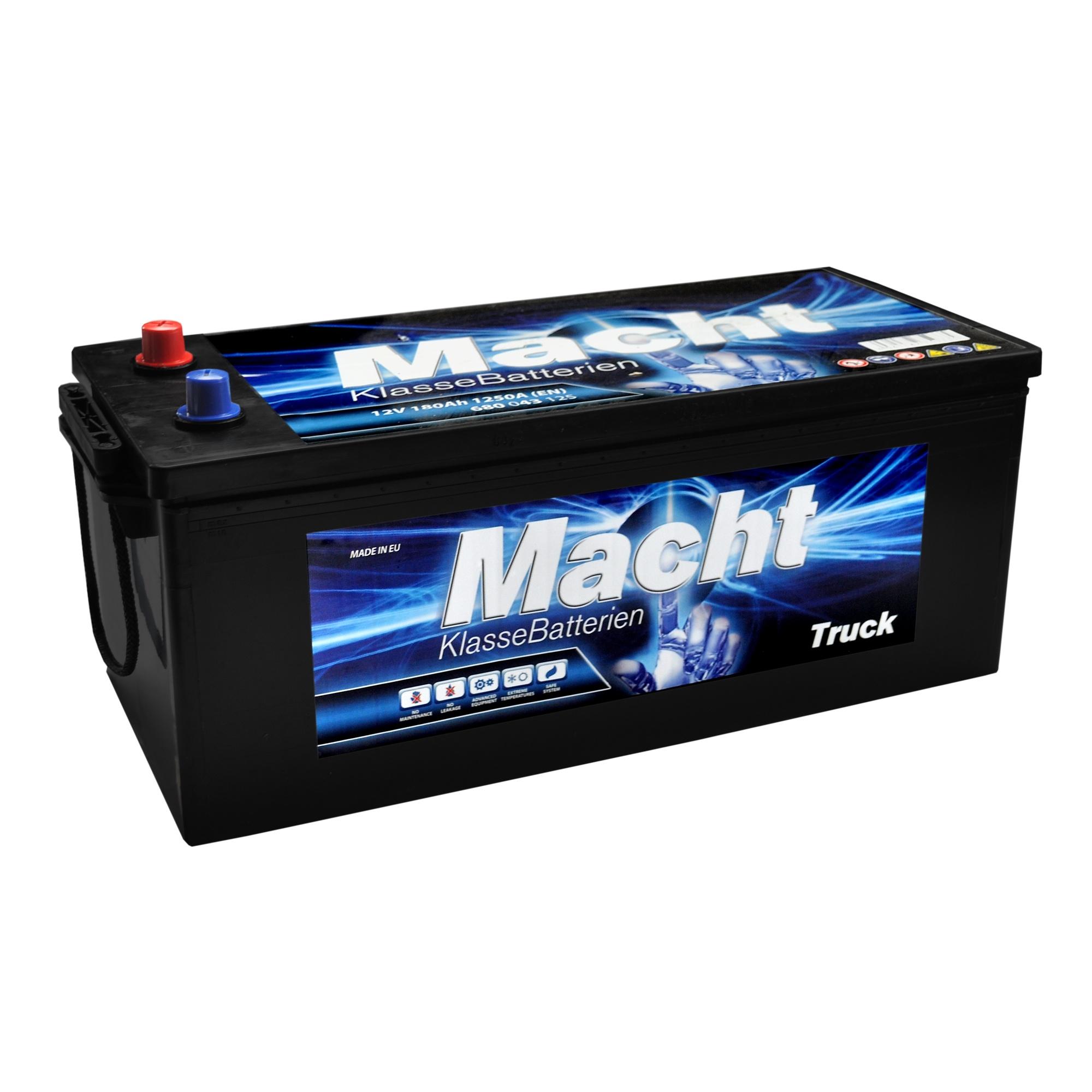 Baterie auto MACHT 25352 Heavy Duty 12V 180AH 1200A