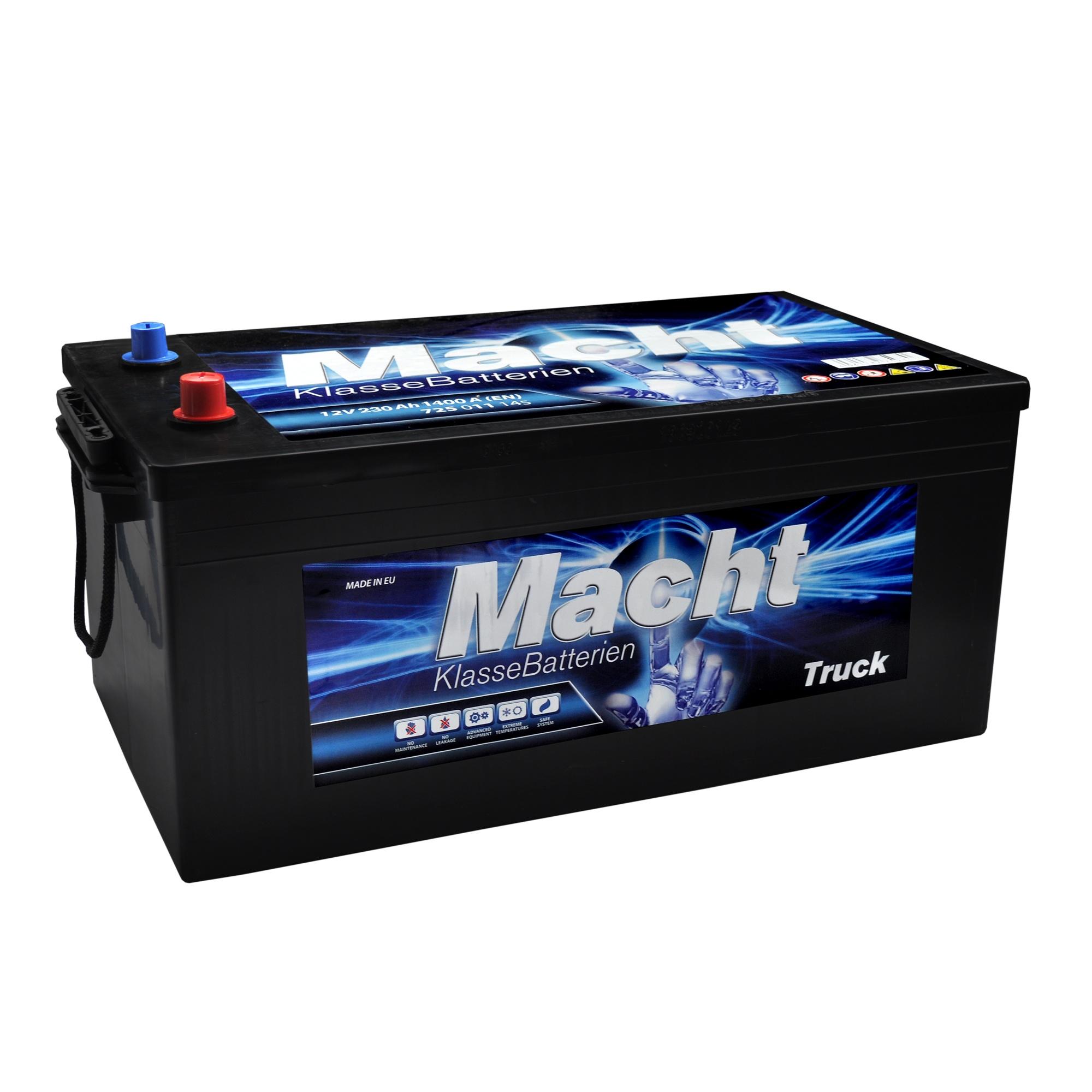 Baterie auto MACHT 25353 Heavy Duty 12V 230AH 1350A
