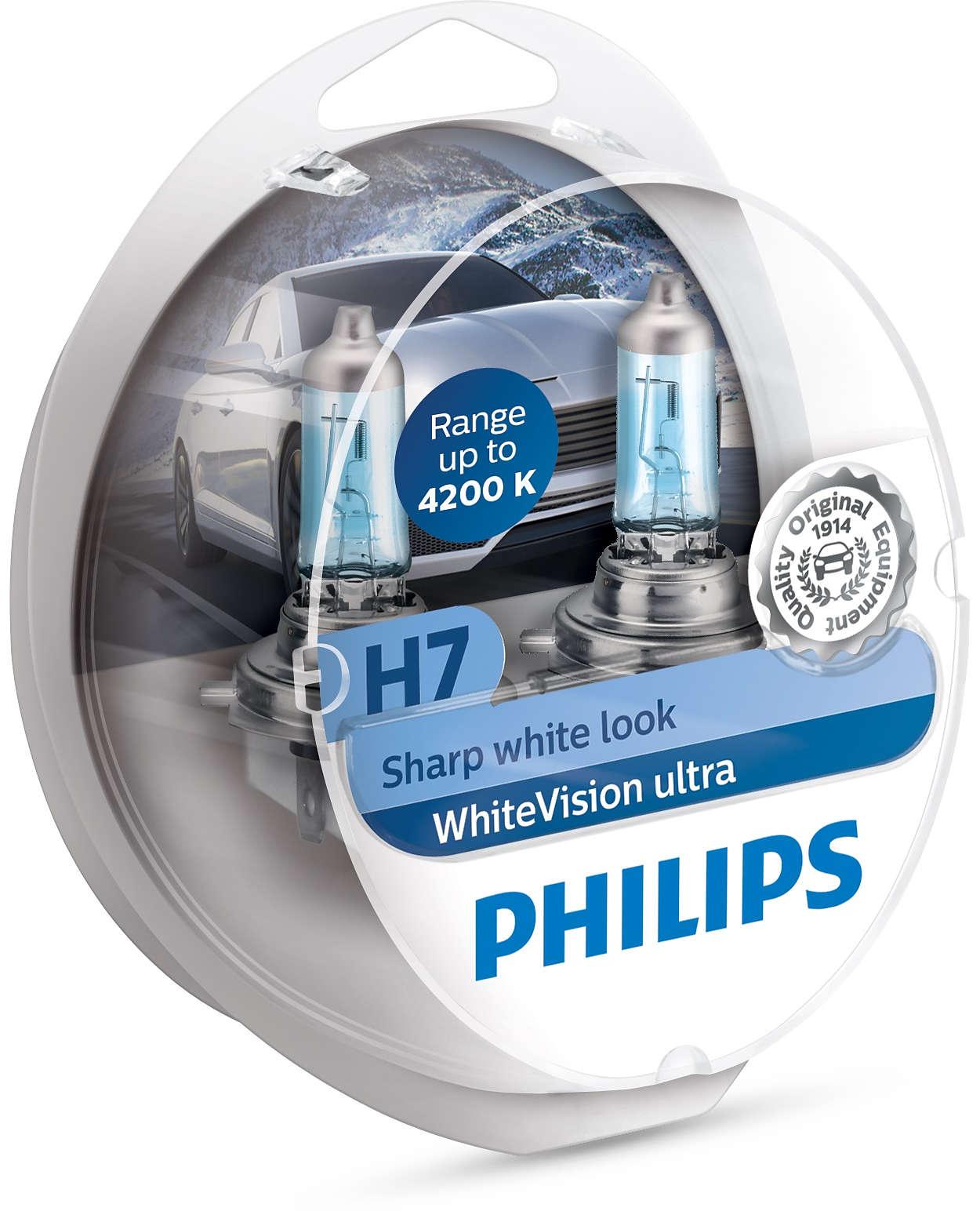 BEC AUTO PHILIPS 12972WHVSM H7 WHITE VISION 12V 55W