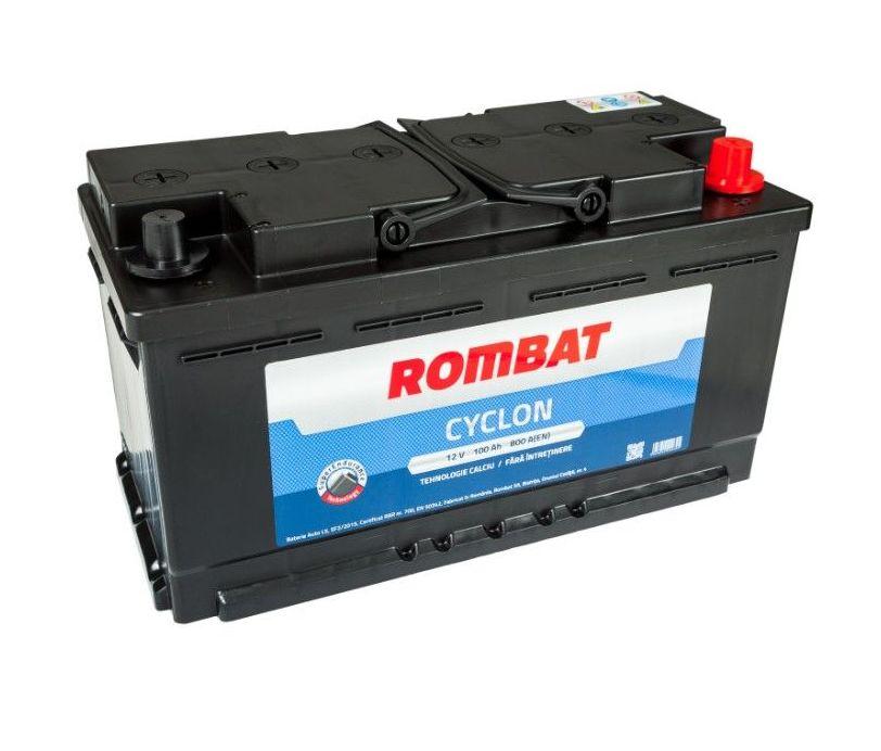 Baterie auto ROMBAT CYCLON 12V 100AH 800A