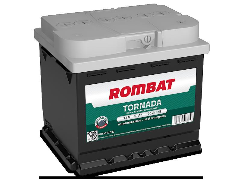 Baterie auto ROMBAT TORNADA 12V 40AH, 390A
