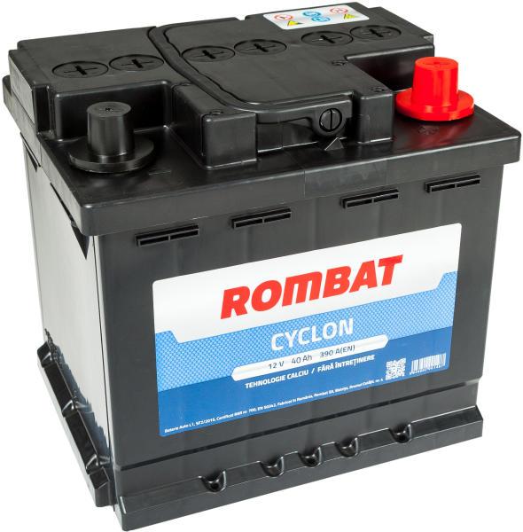 Baterie auto ROMBAT CYCLON 12V 40AH, 390A