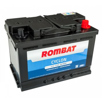 Baterie auto ROMBAT CYCLON 12V 77AH, 640A