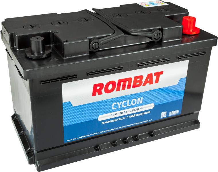 Baterie auto ROMBAT CYCLON 12V 88AH, 720A