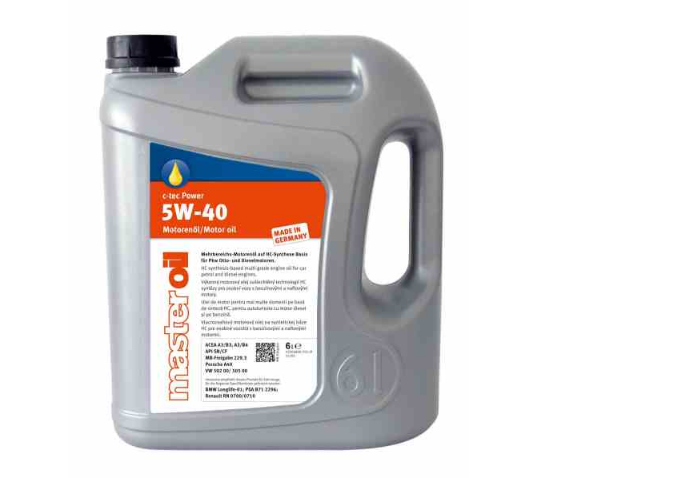 ULEI MOTOR MASTER OIL C-TEC POWER 5W40 6L