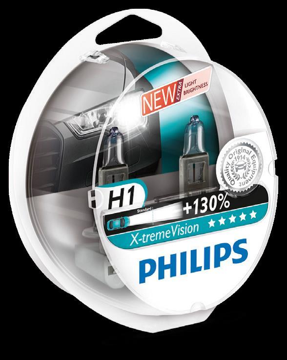 BEC AUTO HALOGEN PHILIPS 12258XV+S2 H1 12V 55W