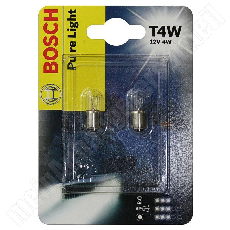 BEC AUTO BOSCH 1987301023 PURE LIGHT T4W 12V 4W